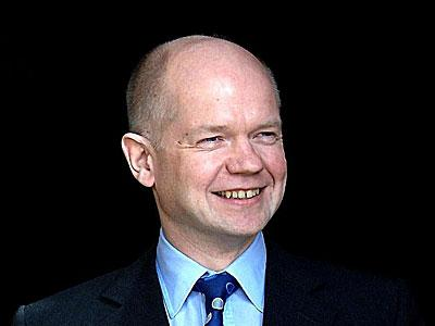 'Behind the mask of asinine geniality Hague is a warmonger.'