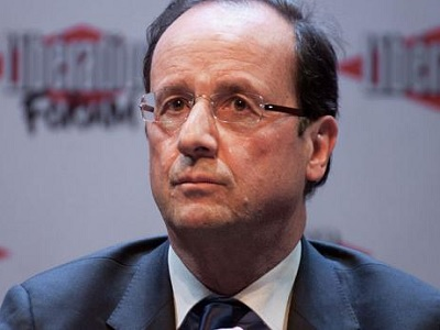 President François Hollande. (Photo: Via euronews)