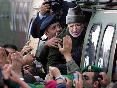Yasser Arafat was flown to France for treatment 17 days into his illness. (Photo: Via BBC)