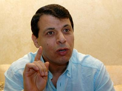 Mohammed Dahlan, a Fatah commander who was defeated by Hamas in 2007.