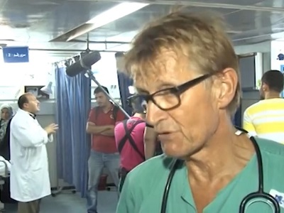 Mads Gilbert: 'As I write these words to you, alone, on a bed, my tears flows, the warm but useless tears of pain and grief, of anger and fear.'