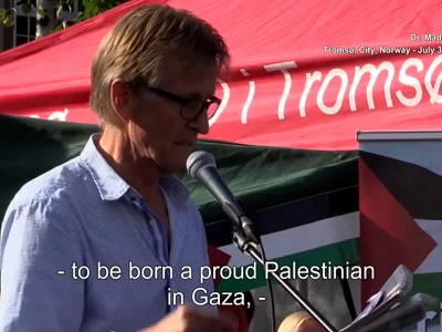 "Mads Gilbert: ""Nobody wants to be occupied!"""