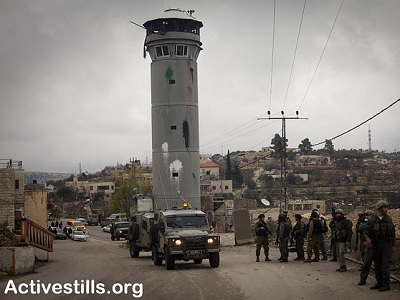 Beit Ummar has a higher percentage of child detainees than anywhere else in Palestine. (ActiveStills.org)