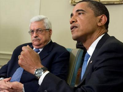 Abbas bent before the onslaught of the winds of American rejection. (WH/file)