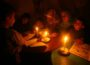 A Gaza generation has never known a time that didn't require candles to be able to study after dark. (Supplied)