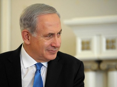 Netanyahu 'doesn't bother to cover the gap between words and bulldozers.' (Wikimedia Commons)