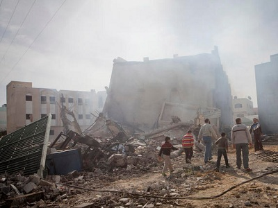 Israel killed more 2140 Palestinians in its latest war on Gaza. (Activestills.org)