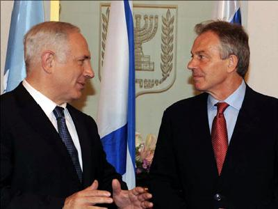 Blair enjoys the trust and confidence of the Israeli establishment. (Via Aljazeera/file)