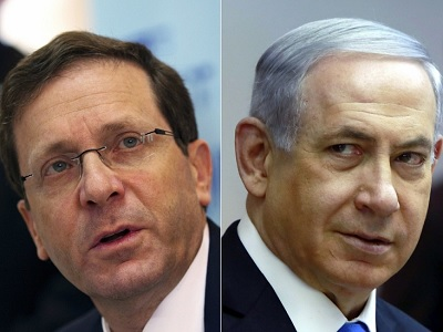 Herzog is contributing to the 'good Labor-bad Likud' routine that the Israeli ruling class have played for decades. (File)