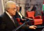 Abbas blames Israel for not being allowed to host refugees. (Photo: Via Ma'an)