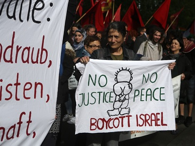 The Dutch government 'opposes a boycott of Israel, but endorsing BDS falls under freedom of expression.' (Photo: Anne Paq, ActiveStills.org)