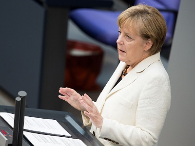Merkel is convinced that current Israeli policies would ultimately transform Israel into an apartheid regime. (File)
