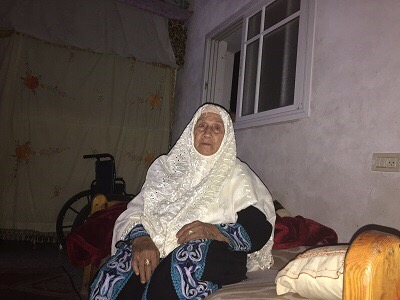 The 86-year old was preparing for marriage when her town was ethnically cleansed by Zionists militias in 1948 (Photo: Yousef M. Aljamal,  PC)