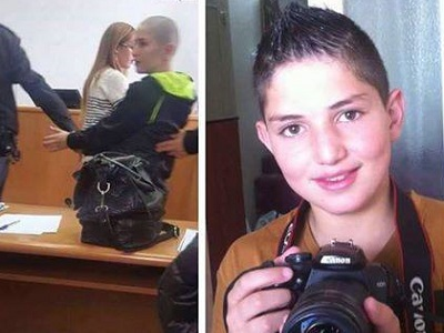 Youngest Palestinian child prisoner, Shadi Farah, 12. (Photo: Khabirni)