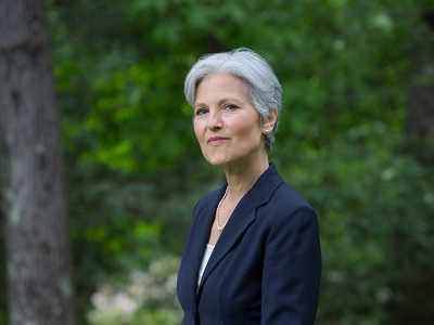 Stein is the only candidate with the courage to tell Israeli leaders that US taxpayers' money will be contingent on peace talk.  (Photo: via Social Media)