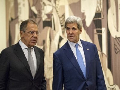Sergey Lavrov (L), Russian Minister for Foreign Affairs and John Kerry, US Secretary of State. (Photo: UN, file)