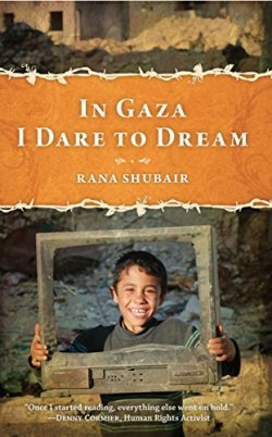 In Gaza I dare to dream book cover (Photo via Amazon.com)