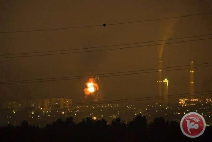Israeli Airstrikes Target Sites in Northern Gaza