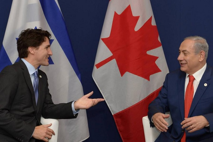 The Real Face of Justin Trudeau: Are Palestinians Canada's New Jews?
