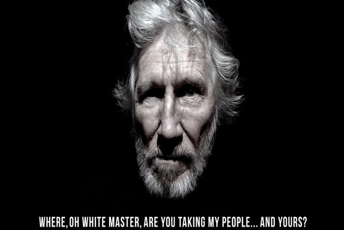 english singer roger waters recites verses by mahmoud darwish in new song video palestine. Black Bedroom Furniture Sets. Home Design Ideas