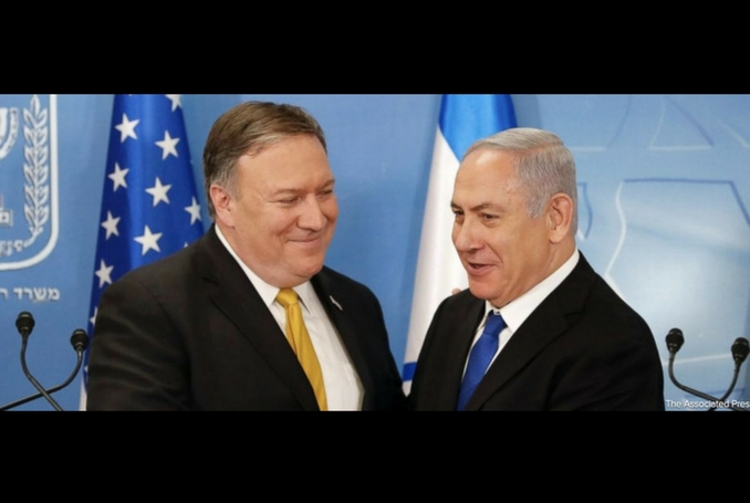 Pompeo reiterated US support to Israel during his visit to the Middle East