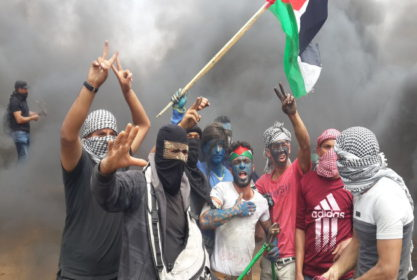 Palestinians Rally for 75th Consecutive Friday in Gaza (VIDEOS)