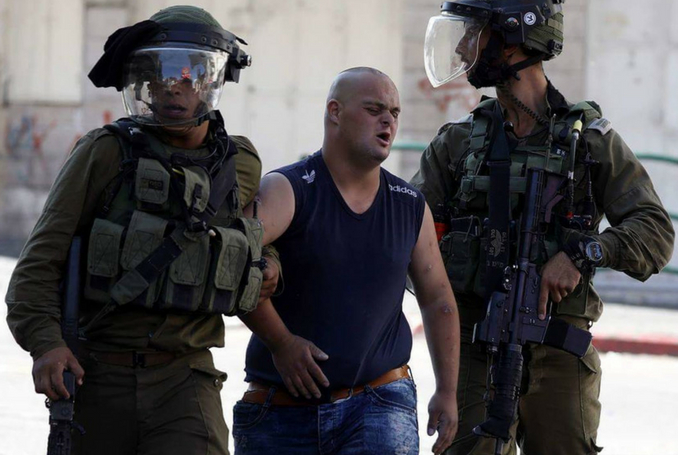 israeli soldiers attack palestinian with down syndrome
