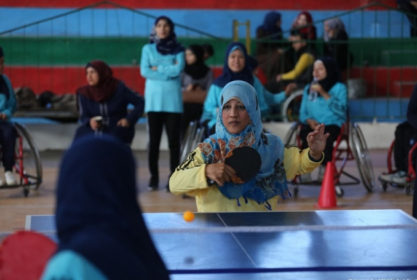 Disabled Athletes Compete in Gaza Sports Contest
