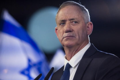 Gantz: Netanyahu Weak on Gaza (VIDEO)