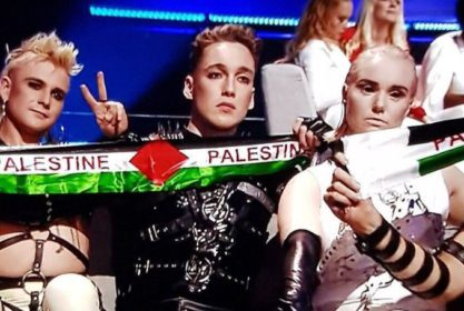Iceland's Hatari Holds Up Palestinian Flags at Eurovision 2019 (VIDEO)