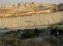 The Israeli wall near Jerusalem. (Photo: Tamar Fleishman. PC)