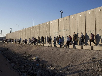 'The Separation Wall will serve as the security borders of the Jewish state.' (Photo: Activestills.org)