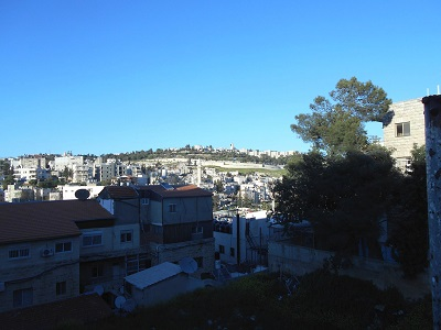 Wadi El Joz is located immediately below Mt. Scopus/Hebrew University.
