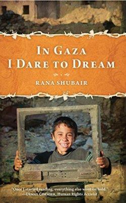 In Gaza I dare to dream book cover (Photo via Amazon.com)
