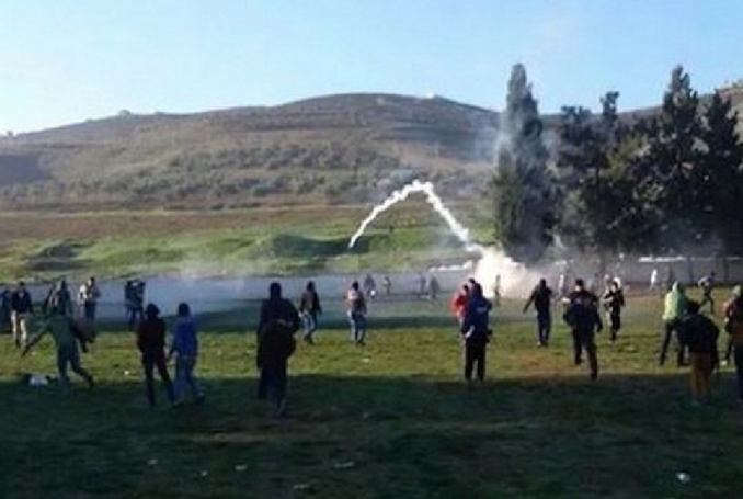 Palestinian Students Attacked ...