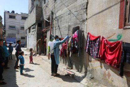PHOTOS: Using Humble Means, Besieged Gaza Prepares for the ...