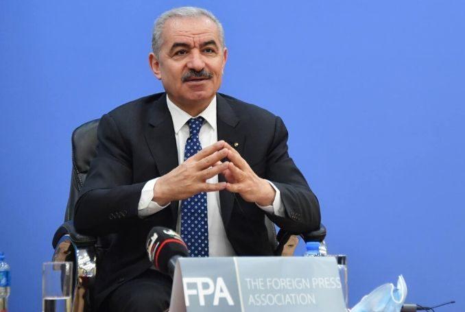 Shtayyeh: l'ANP pronta a dialogare con Israele sulla base delle risoluzioni internazionali